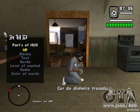 Change Hud Colors for GTA San Andreas forth screenshot
