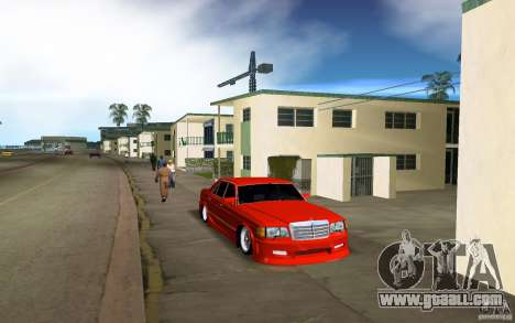 Mercedes-Benz W126 Wild Stile Edition for GTA Vice City left view