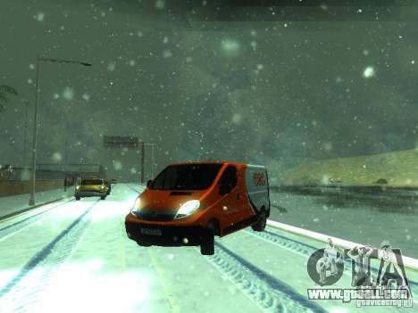 Vauxhall Vivaro v1.1 TNT for GTA San Andreas