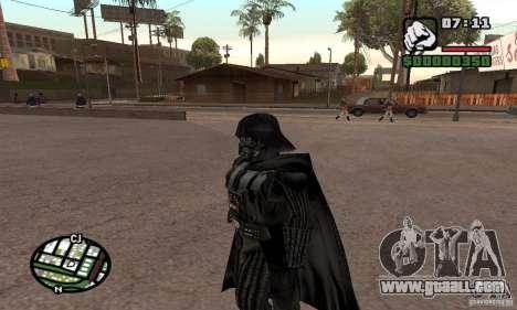 Darth Vader for GTA San Andreas third screenshot