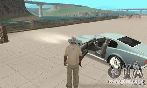 Aston Martin V8 for GTA San Andreas back view