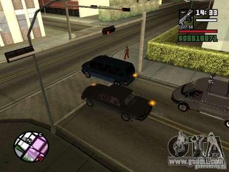 Turn signals 2.1 for GTA San Andreas second screenshot