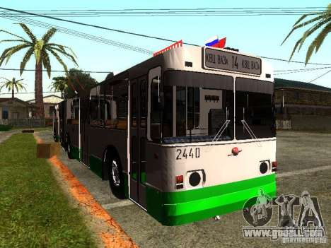 ZiU 683 for GTA San Andreas left view