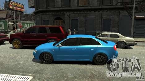 Audi S4 2000 for GTA 4 left view