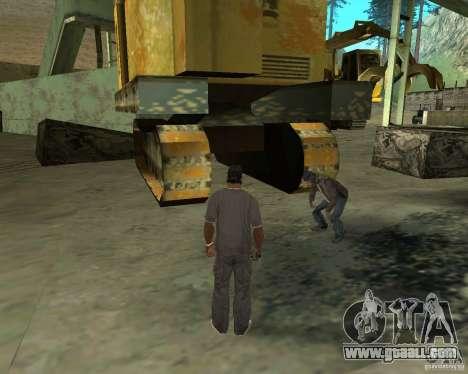 Barney homeless for GTA San Andreas sixth screenshot