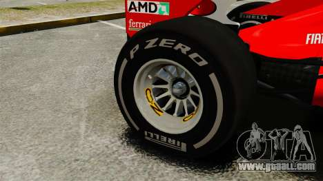 Ferrari F2012 for GTA 4 back view