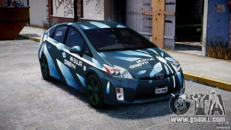 Toyota Prius 2011 PHEV Concept for GTA 4 back view