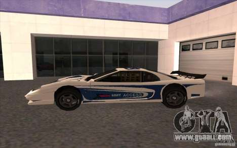 The New Turismo for GTA San Andreas left view