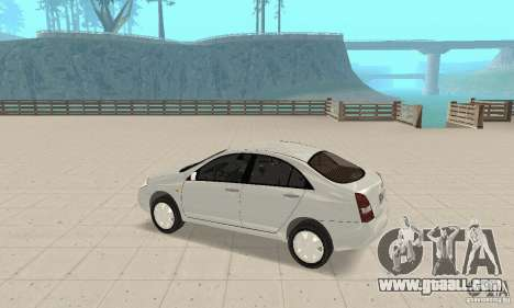 Nissan Primera for GTA San Andreas back view