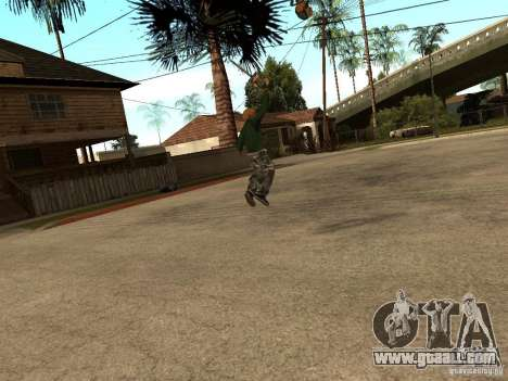 Throwing blades for GTA San Andreas third screenshot