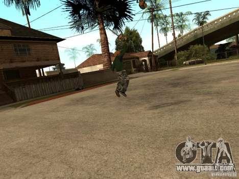 Throwing blades for GTA San Andreas third screenshot