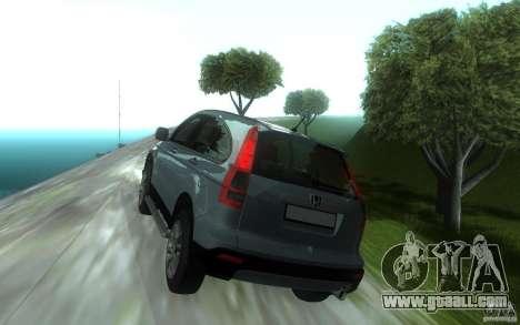 Honda CR-V for GTA San Andreas back left view