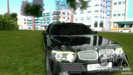BMW 7-Series 2002 for GTA Vice City left view