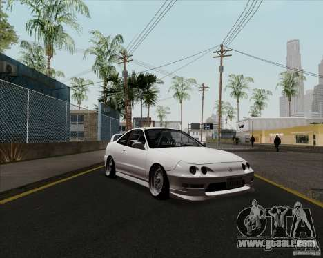 Acura Integra for GTA San Andreas left view