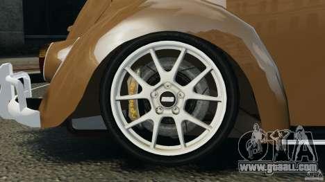 Volkswagen Fusca Gran Luxo v2.0 for GTA 4 interior