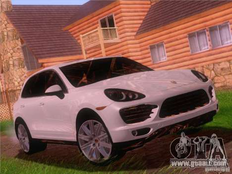 Porsche Cayenne Turbo 958 2011 V2.0 for GTA San Andreas side view