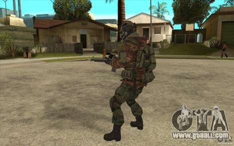 Special Forces Flag for GTA San Andreas forth screenshot