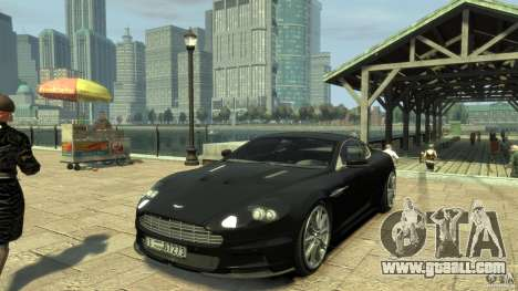 Aston Martin DBS Coupe v1.1f for GTA 4