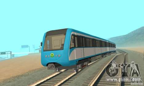 Metro 81-7021 for GTA San Andreas