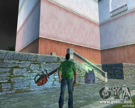 Chainsaw for GTA Vice City third screenshot