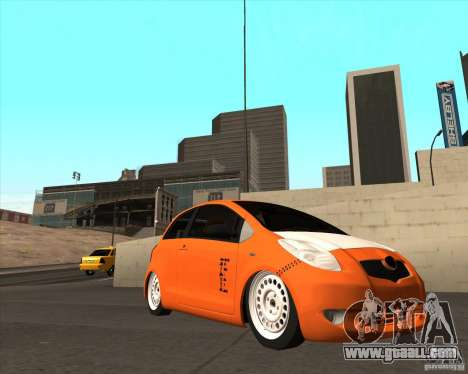 Toyota Yaris II Pac performance for GTA San Andreas