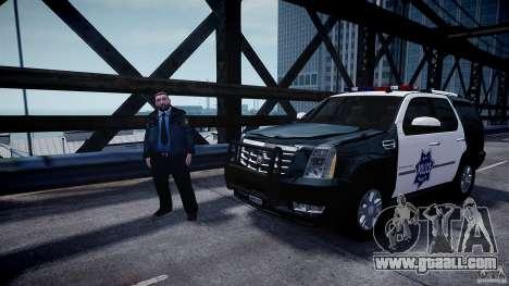 Cadillac Escalade Police V2.0 Final for GTA 4