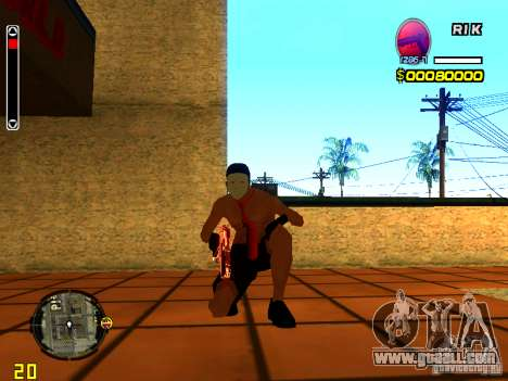 Skin Beach man for GTA San Andreas fifth screenshot