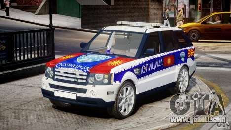 Range Rover Macedonian Police [ELS] for GTA 4