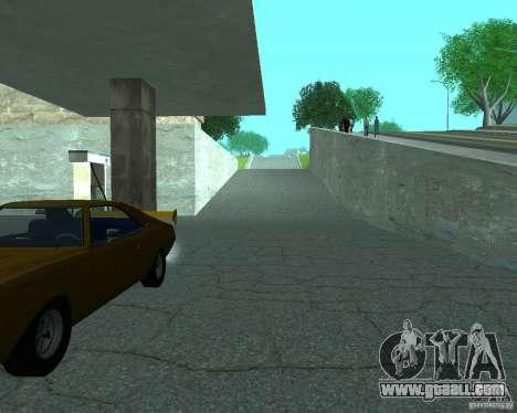 New Xoomer. new gas station. for GTA San Andreas third screenshot