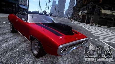 Plymouth GTX 426 HEMI [EPM] v.1.0 for GTA 4