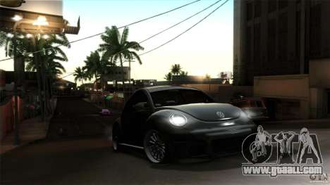 Volkswagen Beetle RSi Tuned for GTA San Andreas side view