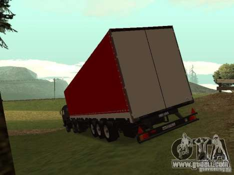 Nefaz 93344 Red for GTA San Andreas back left view