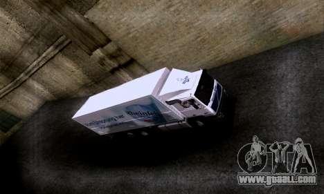 Volvo F10 for GTA San Andreas right view