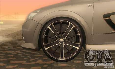 Opel Astra GTC DIM v1.0 for GTA San Andreas inner view