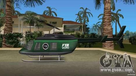 FBI Maverick for GTA Vice City inner view