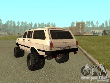 31022 Volga GAS 4 x 4 for GTA San Andreas right view