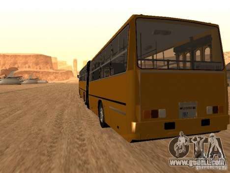 Trailer Ikarusu 280.33 for GTA San Andreas left view