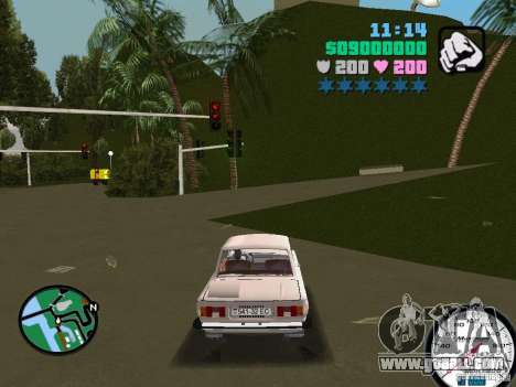 ZAZ 968 for GTA Vice City left view
