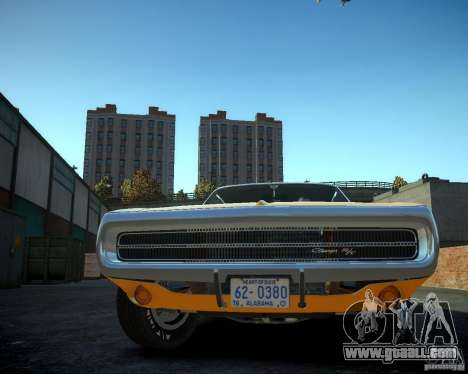 Dodge Charger Magnum 1970 for GTA 4 back view
