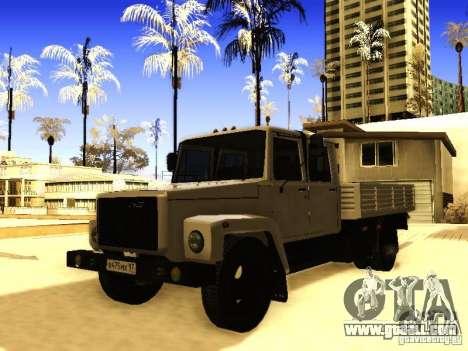 GAZ 3309 double row for GTA San Andreas