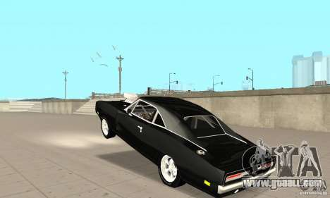 Dodge Charger RT 1970 The Fast & The Furious for GTA San Andreas inner view