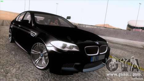 BMW M5 2012 for GTA San Andreas right view