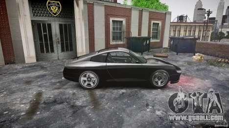 Comet FBI car for GTA 4 left view