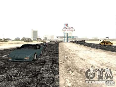 New roads in Las Venturas for GTA San Andreas third screenshot