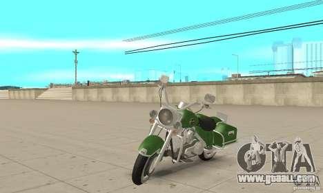 Harley Davidson Road King for GTA San Andreas