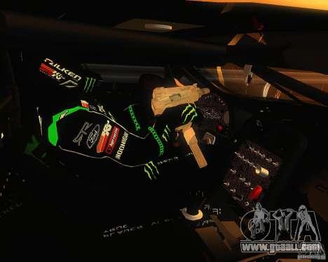 Chevrolet Corvette Drift for GTA San Andreas back view