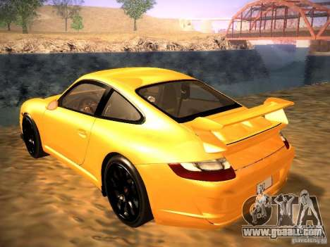 Porsche 911 for GTA San Andreas side view