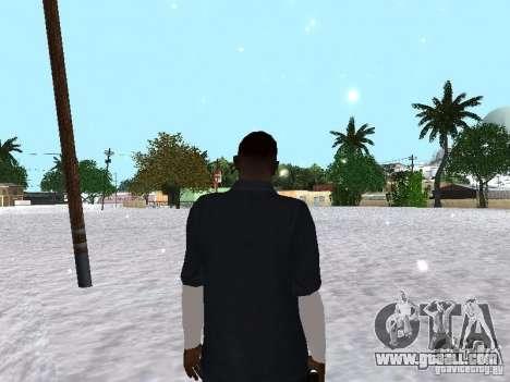 Snow MOD 2012-2013 for GTA San Andreas fifth screenshot