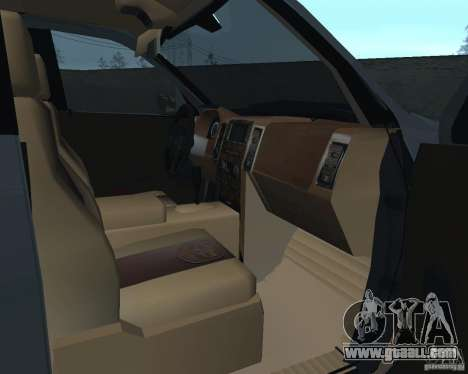 Dodge Ram Hemi for GTA San Andreas back view