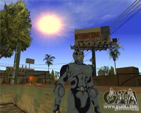 Guyver-I Demo for GTA San Andreas third screenshot